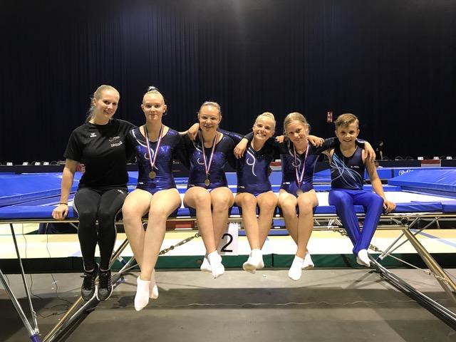 2017 juni NKtrampo team